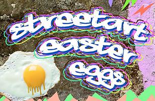 STREETART EASTER EGGS in Rothenburgsort